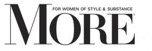 MORE Magazine logo